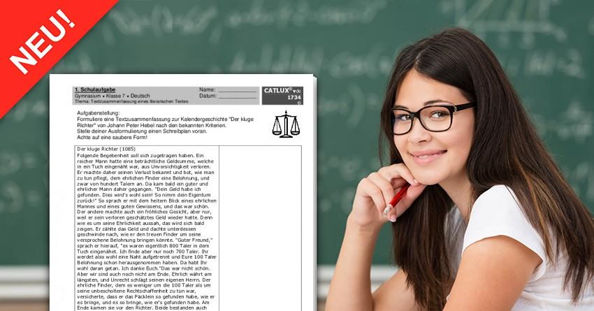 Schulaufgabe Deutsch Textzusammenfassung Inhaltsangabe Eines