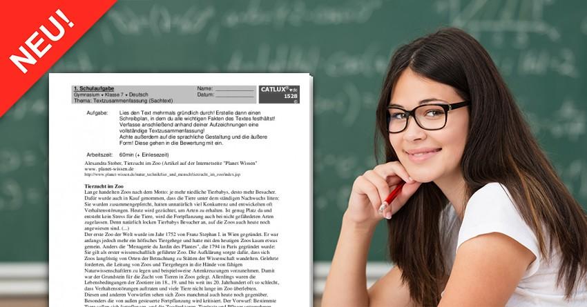 Schulaufgabe Deutsch Textzusammenfassung Inhaltsangabe Sachtext