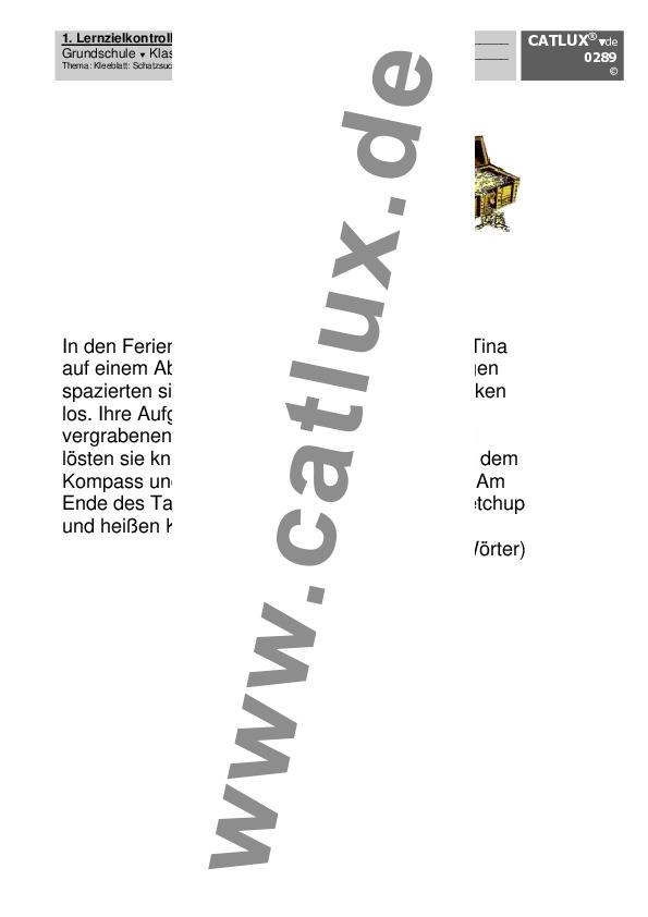 ▷ Proben Deutsch Klasse 4 Grundschule | Catlux