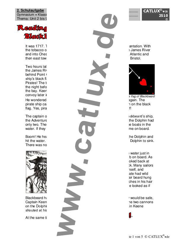 ▷ Schulaufgaben Englisch Klasse 8 Gymnasium | Catlux