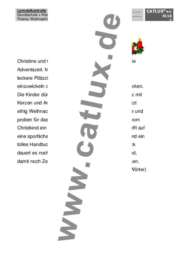 Diktat Deutsch Diktat Für Die Grundschule Fach Deutsch Klasse 4