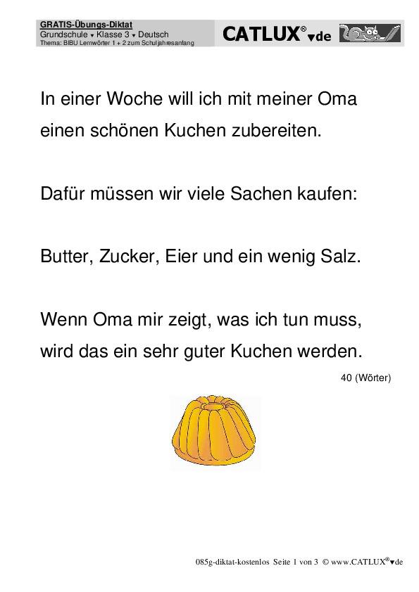 Deutsch test zum ausdrucken kostenlos