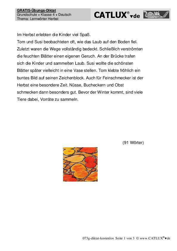 diktate deutsch klasse 4 grundschule nach alphabet bzw. Black Bedroom Furniture Sets. Home Design Ideas
