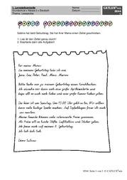 leseproben deutsch klasse 2 grundschule catlux