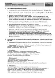 ▷ Schulaufgaben Geschichte Klasse 7 Gymnasium | Catlux