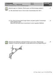extemporalen stegreifaufgaben mathematik klasse 7. Black Bedroom Furniture Sets. Home Design Ideas