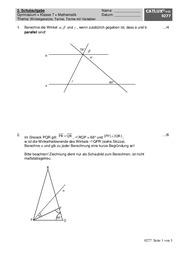 schulaufgabe mathematik terme winkelgesetze vierecke 2 schulaufgabe f r mathematik am. Black Bedroom Furniture Sets. Home Design Ideas