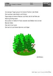 Diktate Deutsch Klasse 3 Grundschule Allgemein Catlux