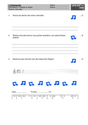 ▷ Schulaufgaben Musik Klasse 6 Gymnasium | Catlux