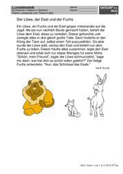 leseproben deutsch klasse 4 grundschule catlux