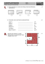 extemporalen stegreifaufgaben mathematik klasse 5 realschule catlux. Black Bedroom Furniture Sets. Home Design Ideas