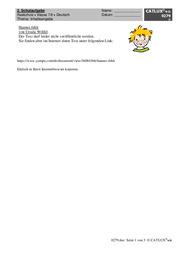 Aufsatz Deutsch Klasse 7 Realschule Catlux