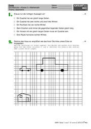 lernzielkontrolle probe mathematik formen und figuren. Black Bedroom Furniture Sets. Home Design Ideas