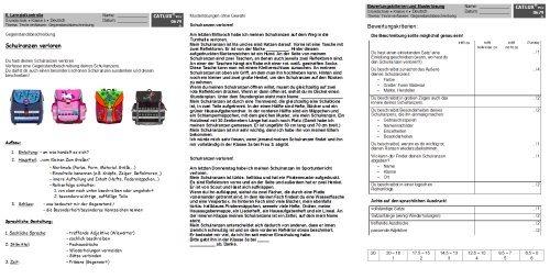 aufsatz deutsch klasse 3 grundschule | catlux, Einladung